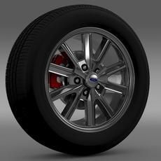 Ford Mustang 2005 wheel 3D Model