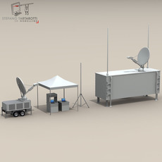 UAV Ground Control Stations 3D Model