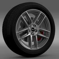 Ford Mustang Boss 302 2013 wheel 3D Model