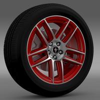 Ford Mustang Boss 302 Laguna Seca 2012 wheel 3D Model