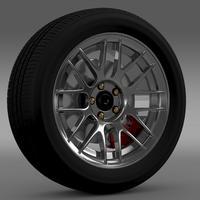 Ford Mustang Boss 302R 2011 wheel 3D Model
