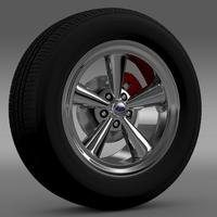 Ford Mustang GT 2006 wheel 3D Model