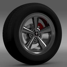 Ford Mustang GT CS 2007 wheel 3D Model