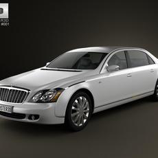 Maybach 62S 2011 3D Model