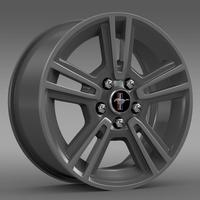 Ford Mustang 2013 rim 3D Model