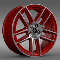Ford Mustang Boss 302 Laguna Seca 2012 rim 3D Model