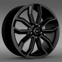Ford Mustang GT 2013 rim 3D Model