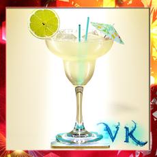Margarita Cocktail - High Detailed 3D Model