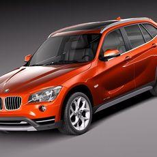 BMW X1 2013 3D Model