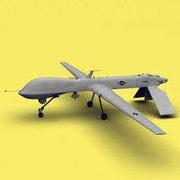 MQ-1B Predator 3D Model