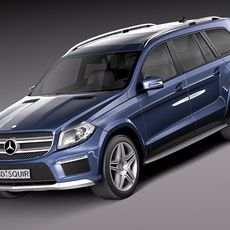 Mercedes-Benz GL-Class 2013 3D Model