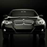 bmw, series, 2008, facelift, E90 3D Model