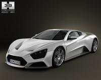 Zenvo ST1 2010 3D Model