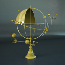 Orrery Solar System 3D Model