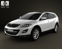 Mazda CX-9 2012 3D Model