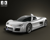 Gumpert Apollo 2008 3D Model