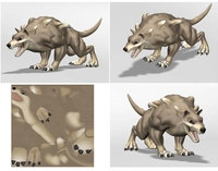 Free Lucia's Chaos Hound 3D Model