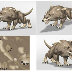 Lucia's Chaos Hound 3D Model