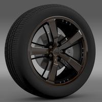 Chevrolet Camaro 2008 BlackConcept 3D Model
