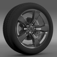Chevrolet Camaro 2010 transformer wheel 3D Model