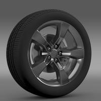 Chevrolet Camaro 2010 wheel 3D Model