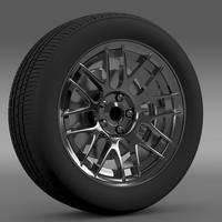 Chevrolet Camaro 2012 Hennesey wheel 3D Model