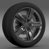 Chevrolet Camaro LS7 2008 wheel 3D Model