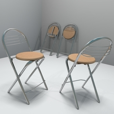 Kitchen Stool 3D Model