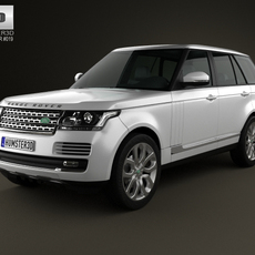 Land Rover Range Rover (L405) 2014 3D Model