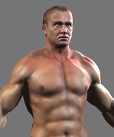 Lowpoly BodyBuilder 3D Model