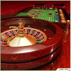 Roulette - Table Casino 3D Model