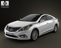 Hyundai Azera (Grandeur) 2012 3D Model