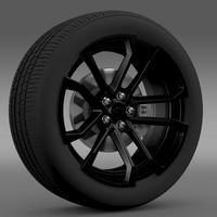 Chevrolet Camaro SSX Concept 2010 wheel 3D Model