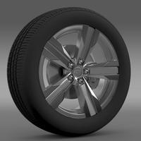 Chevrolet Camaro ZL1 2012 wheel 3D Model