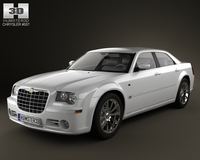Chrysler 300C sedan 2009 3D Model
