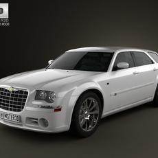 Chrysler 300C wagon 2009 3D Model