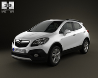 Opel Mokka 2013 3D Model