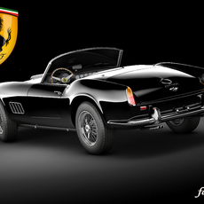 Ferrari 250 California STD MAT 3D Model