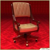 Casino Chair 3D Model
