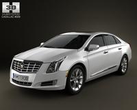 Cadillac XTS 2013 3D Model