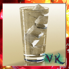 Photorealistic Glass 02 3D Model