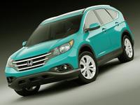 Honda CR-V 2012 3D Model