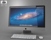 Apple iMac 27 2012 3D Model