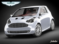 Aston Martin Cygnet 3D Model