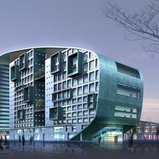 building 359 3D Model