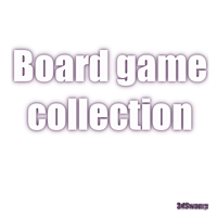 Board game collection 3D Model