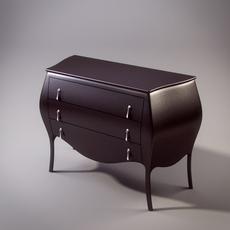 Modern chest 3D Model