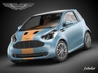 Aston Martin Cygnet racing 3D Model