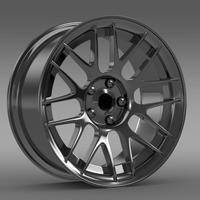 Chevrolet Camaro 2012 Hennesey rim 3D Model