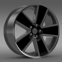 Chevrolet Camaro Convertible 2007 rim 3D Model
